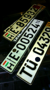 CAR PLATES WANTED ☆☆☆☆☆☆
