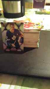 Stack of Tim Hortons Hockey Cards