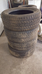 set of tires  235/55/17