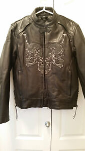 XS Leather Bike jacket