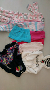 24 month girl cloth 8 pieces