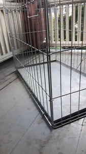 Large Heavy-Duty Dog Crate