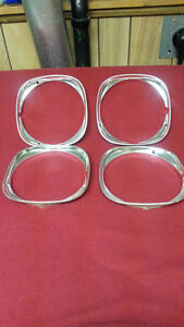 HEADLIGHT BEZELS FOR 1974 CHEVY MALIBU