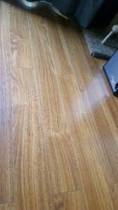 laminate tongue and groove flooring planks (~500 sq ft)
