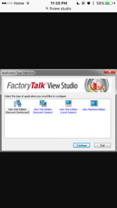 Allen Bradley Factorytalk View Studio SE,ME for sale