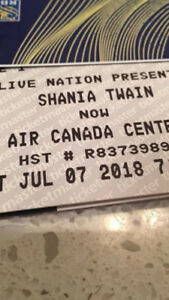 PRICE DROP  SAT JULY 7 / Shania Twain ACC NOW Tour Tickets!!
