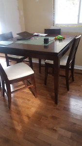 Pub height Table Set