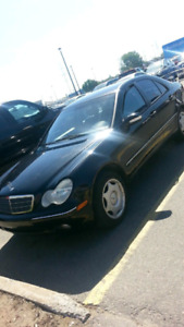 mercedes c240 2002 condition impecable