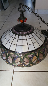 Tiffany Style Large Ceiling Lamp
