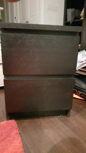 IKEA Malm ALMOST NEW 2 Bedside Tables