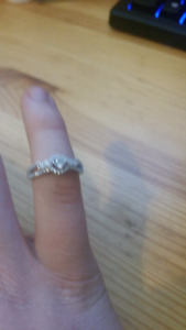 Charmed aroma size 7 ring