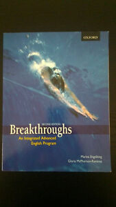 BREAKTHROUGHS ADVANCED ENGLISH PROGRAM SECOND EDITION