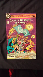 DC comics Invasion Battleground Earth book 2