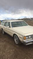 1980's Chevy station wagon