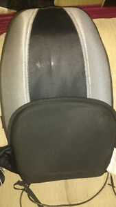 Back massager and heat for chair