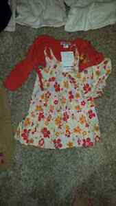 6-12 mths girls, brand name, 14 pieces, some with tags on