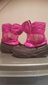 Toddler Size 9 Pink Kamik Winter Boots