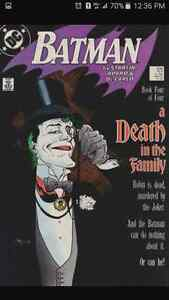 ********* BATMAN 429 DEATH IN THE FAMILY COMIC BOOK *********
