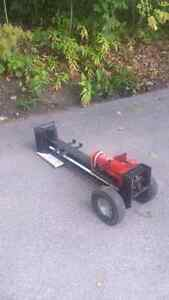 Hydraulic hand operated wood splitter for sale