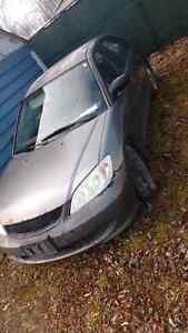 Honda Civic 04, aswell as an extra parts car