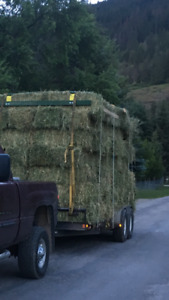 18' 14000lb equipment/hay trailer