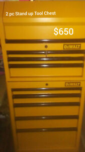 DeWalt Stand up Storage Chest For Sale