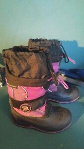 bottes d'hiver pour fillette