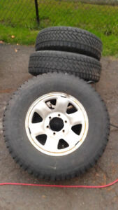 snow tires and rims for 3 rd gen 4Runner
