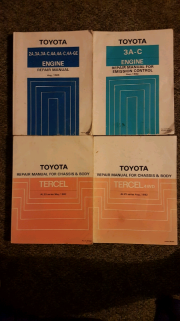 Toyota 3a engine repair manual   Toyota 2A, 3A, 3A  2019-06-11