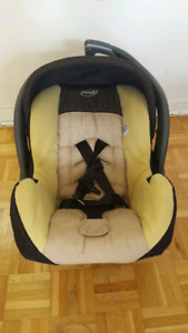Car seat with stroller -Evenflo traveling system