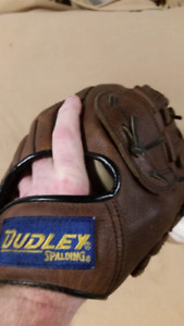 "Spalding Dudley 13.5"" softball glove."