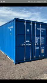 Self storage container garage workshop store