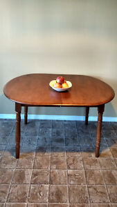 Moving Sale Hardwood Dining Table