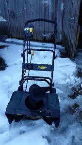 Side Walk Electric Snow Blower