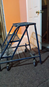 Small rolling ladder