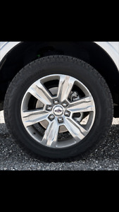 Brand new tires & rims off 2017 F150 Platinum