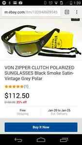 Von Zipper Clutch Polarized Sunglasses $100obo