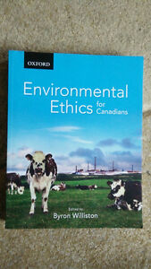 Environmental Ethics for Canadians Kitchener / Waterloo Kitchener Area image 1