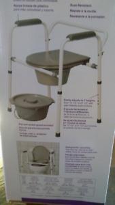 Chaise d'aisance (toilette portative)