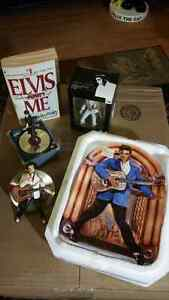 Lot of 5 Elvis Presley the King Collectibles all $20