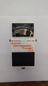 Used BOSS Chromatic Tuner TU-3 Guitar Tuner Pedal For Sale
