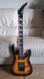 "Jackson jsqa 32 ""dinky "" electric guitar"