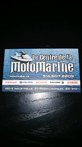 Reparation vente de pieces neuves et usagee de motomarine