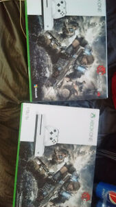 XBOX ONE S 1TB GEARS OF WAR 4 - BNIB SEALED NOT OPENED
