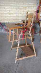 Beautiful antique child seat converts to potty/cart Kitchener / Waterloo Kitchener Area image 1