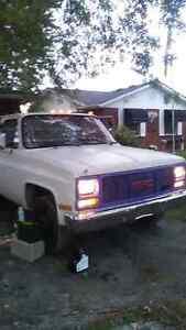 1989 gmc 3500 k/c pickup dump truck
