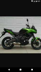 Excellent near New versys 650
