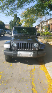 Jeep Wrangrer Sahara Unlimited