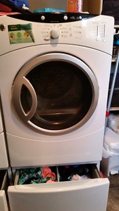 G E front load washer and dryer