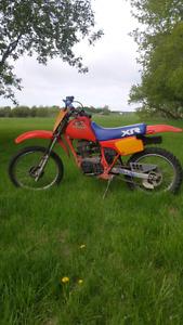 Honda 1985 xr100r